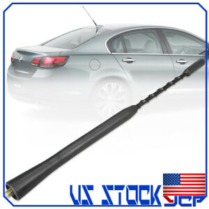 "9"" Mast Screw Whip Roof Fuba Radio Aerial Antenna AM/FM For BMW VW Toyota Mazda"