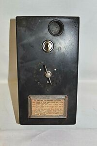 Vintage Pay Phone Coin Box