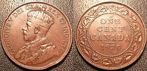 Canada - George V - 1 Cent 1920! Km# 21