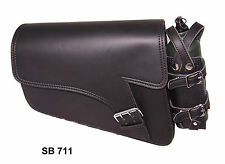 Motorcycle swingarm bag Solo Side Bag Single Saddlebag For Harley Sportster