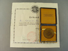 92157: Urkunde + Auszeichnung, Vereinigte Verbände Heimattreuer Oberschlesier