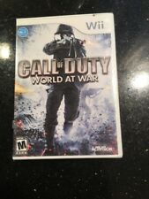 Call of Duty: World at War (Nintendo Wii, Brand New Factory Sealed