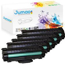 5 Toners cartouches laser type Jumao compatibles pour Samsung ML 1640, Noir