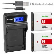 NP-BG1 Battery or Charger for Sony CyberShot DSC-W300 DSC-W50 DSC-W55 DSC-W70