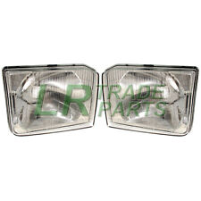 LAND ROVER DISCOVERY 1 NEW FRONT OEM HEADLIGHT LAMPS (PAIR) (1994-1998) 300TDI