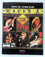 RACER X LIVE! EXTREME VOLUME BAND SCORE JAPAN GUITAR TAB