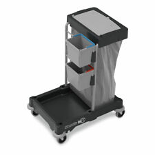 More details for janitorial cleaning trolley hotel school cleaner janitor housekeeping sm1405