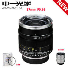 Zhongyi Mitakon Speedmaster 17mm f/0.95 Lens for M4/3 Micro Four Thirds Camera