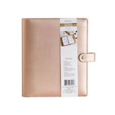 NEW Recollections Creative Year A5 6 Gold Ring Planner Binder - Rose Gold