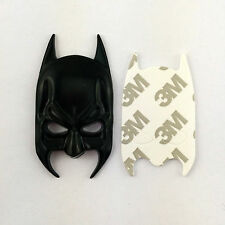 3D Solid Metal Black DC Hero Batman Mask Dark Knight Rise Emblem Fender Tailgate