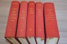 Verlaine oeuvres poétiques complètes 5 vols Vialetay lithographies Vertes / F10N