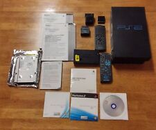 SONY PLAYSTATION 2 FAT PS2 CONSOLE ONLY TESTED & ACCESSORIE PPH DVD REMOTES MORE