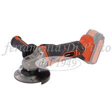 SMERIGLIATRICE ANGOLARE MM 115 BATTERIA LITIO 20 40 V 1500 5200 2600 mAh FLEX