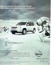 PUBLICITE ADVERTISING 125  2007   NISSAN  le nouveau X-trail