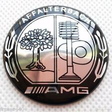 52 MM MERCEDES BENZ AMG/AFFALTERBACH/Apple Tree Steering Wheel Badge Gratuit UK p&p