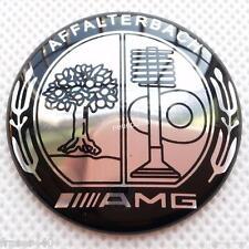 52MM MERCEDES BENZ AMG/AFFALTERBACH/APPLE TREE STEERING WHEEL BADGE FREE UK P&P