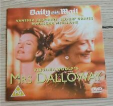 VANESSA REDGRAVE RUPERT GRAVES Mrs Dalloway, GB DVD, 2002, 93 Minuten