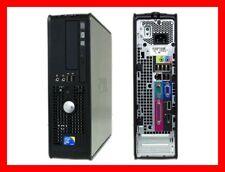 DELL OPTIPLEX 760 INTEL CORE 2 DUO E7400 @ 2.8 GHZ 2GB RAM 160GB HDD DVDRW