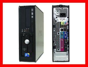 DELL OPTIPLEX 760 INTEL CORE 2 DUO E7400 @ 2.8 GHZ 4GB RAM 80GB HDD DVDRW