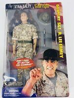 "Vintage Signed Gunnery Sgt. R. Lee Ermey 12"" Motivational Action Figure"