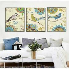 3pc Birds crying DIY 16X20'' Paint by Number Kits Acrylic patint On Canvas 1882