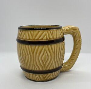 Vintage Ceramic Beer Mug In Tankard Style. Made In Japan