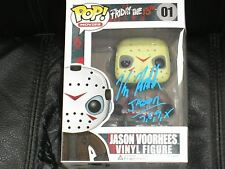 KANE HODDER Signed Jason Voorhees Funko Pop Figure Friday the 13th Autograph