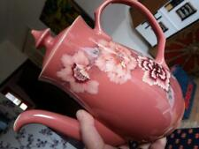 A beautiful Vintage Damask Denby coffee pot. It holds 3 pints  Dusky pink