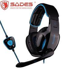SADES SNUK USB PC Gaming Headset Micro Chat BRAND NEW Genuine Melbourne SA-902