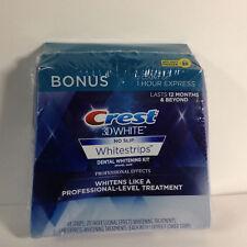 Crest 3D Whitestrips Professional Effects 20 Treatments - BONUS 1 Hour Express