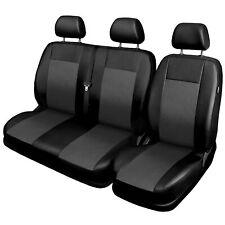 Fundas para asientos ya referencias set EA Fiat Ducato sustancia gris oscuro