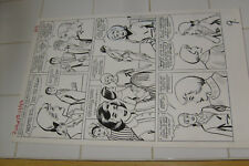 PATSY WALKER #113 ORIGINAL ART, PAGE 7, AL HARTLEY?, MARVEL LARGE ART Comic Art