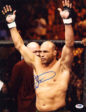 Randy Couture SIGNED 11x14 Photo UFC MMA LEGEND PSA/DNA AUTOGRAPHED