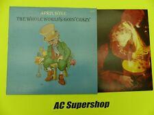 """April Wine the whole worlds goin crazy - LP Record Vinyl Album 12"""""""