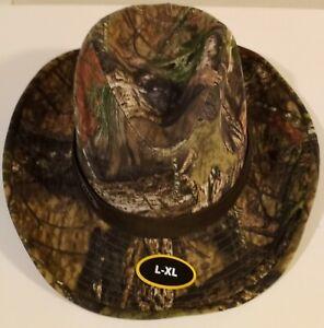 Men's Mossy Oak Break-Up Country, Size L/XL Hat,  w/ Wire Brim & Mossy Oak Logo
