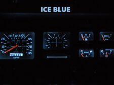 80-86 Ford F100 F150 F250 F350 Truck Gauge Cluster LED Dash Kit Ice Blue