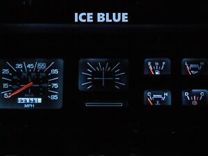 Gauge Cluster LED Dash Kit Ice Blue For Ford 80-86 F100 F150 F250 F350 Truck
