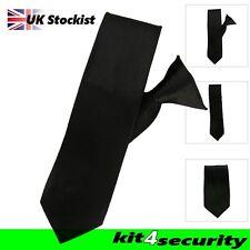 NERO Clip Per Cravatta sicurezza Bouncer polizia a basso costo