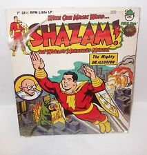 VINTAGE SCARCE Shazam (1975) Peter Pan Record/Power Record BRAND NEW NEVER OPENb