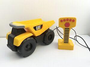 Caterpillar CAT Remote Control Dumper Truck Lights & Sounds Construction Toy