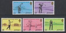 Jersey - 2002, La Moye Club de Golf Ensemble - MNH - Sg 1035/9
