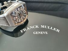Frank Muller Vanguard Titanium and Rose Gold Watch - box and papers