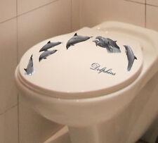 Adesivo Sticker Decorazione Parete Adesivo DELFINO DOLPHIN DELFINI Bagno Dusch Piastrelle WC
