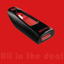 SanDisk 16GB Cruzer Ultra USB 3.0 80MB/s Flash Pen Drive SDCZ48-016G-U46 Fast