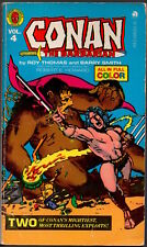 CONAN THE BARBARIAN 4 - Marvel Comics Tempo Books Edition - 1978