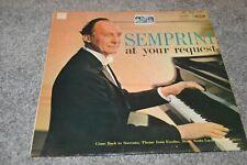 """New listing Semprini At Your Request - Semprini - MFP 1079 - EMI - 12"""" Vinyl LP"""