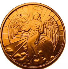 Pocket Guardian Angel For Protection Good Luck Coin Medal Token / Free Ship!3516