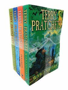 Terry Pratchett Discworld Novel Series Gift Collection Set 4 Books (6-10)