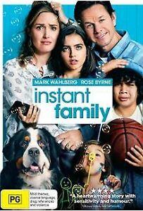 Instant family(DVD, 2019) Australian stock