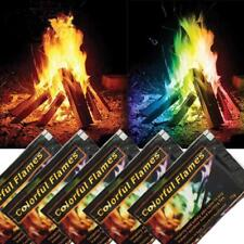 Mystical Color Fire Pack Magic Flames Colorant Campfire Fireplace Packets 4pcs